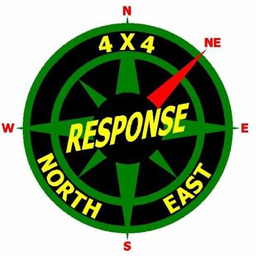 4x4 Response North East Logo
